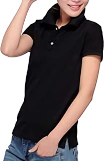 Plus Nao(プラスナオ) ポロシャツ トップス 半袖 レディース メンズ 男女兼用 襟付き 襟付きシャツ ペアルック 無地 ワンカラー カラバリ豊