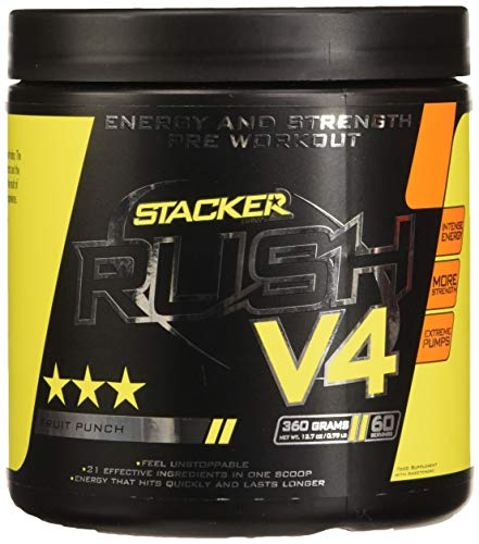 Stacker2 Rush V4 (60Serv) 1 Unidad 360 g