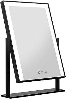 Embellir Makeup Mirror Hollywood Standing Mirror Tabletop Vanity 12 LED Bulbs
