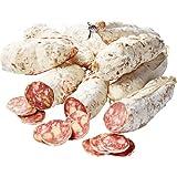 HENRI RAFFIN - Lot de 9 Saucissons Secs à L'Ancienne - 5 Nature, 2 au Comté AOP, 2 aux Noix du Dauphiné - Fabriqués et Séchés en Savoie - Viande de Porc 100% Française - 1,6 Kg Environ