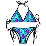 Bikini De 2 Piezas Textura De Piel De Reptil Acogedor Traje De Baño Piscina Playa Hawaii Regalo Bikini Set Cosplay Cumpleaños Vacaciones Traje De Baño Sexy Sexy Ropa Interior 2 Pi