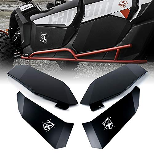 Xprite Aluminum Lower Full Door Insert Panels Kit for 4 Doors 2017-2021 Can-Am Maverick X3 MAX Turbo