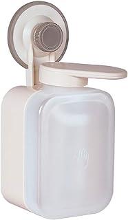 Distributeur de savon manuel à fixation murale à ventouse pour douche, lotion, shampoing, bouteille en mousse liquide pour...