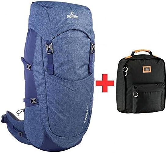 Sac à dos Voyager 60L Femme Cobalt avec sac à dos
