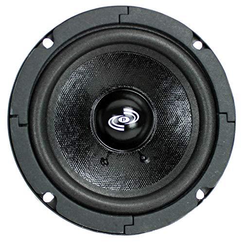 Pyle 5 Inch Woofer Driver - Upgraded 200 Watt Peak High Performance Mid-Bass Mid-Range Car Speaker 450Hz - 7kHz Frequency Response 15 Oz Magnet Structure 8 Ohm w  92dB