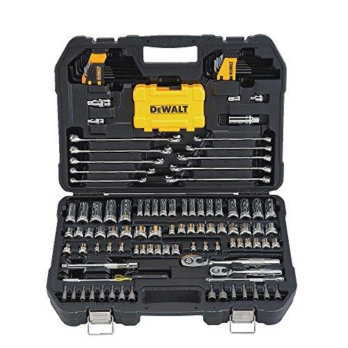 DEWALT DWMT73802 Mechaniker-Werkzeugset, 142-teilig, mit Koffer, 1 Stück