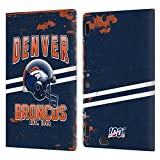 Head Case Designs Licenciado Oficialmente NFL Casco Distressed Look 100th Denver Broncos Logo Art Ca...