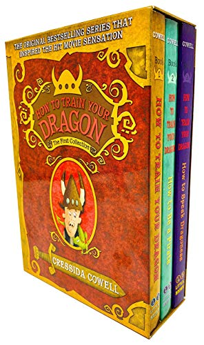 Price comparison product image How To Train Your Dragon 3 Books Collection Box Set by Cressida Cowell - The First Collection