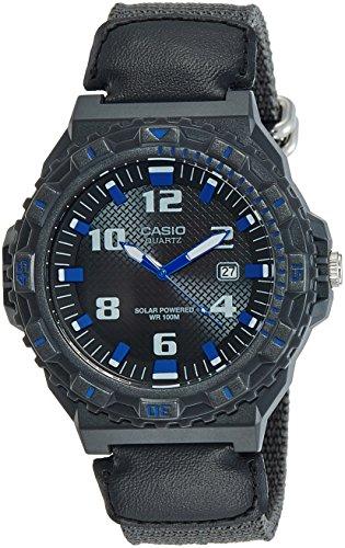 Casio MRWS300H-8B - Reloj analógico de Cuarzo para Hombre Color Negro
