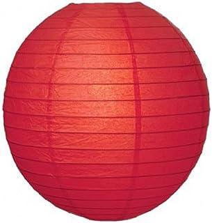 Kala Decorators Paper Lantern (41 x 41 cm, Red)