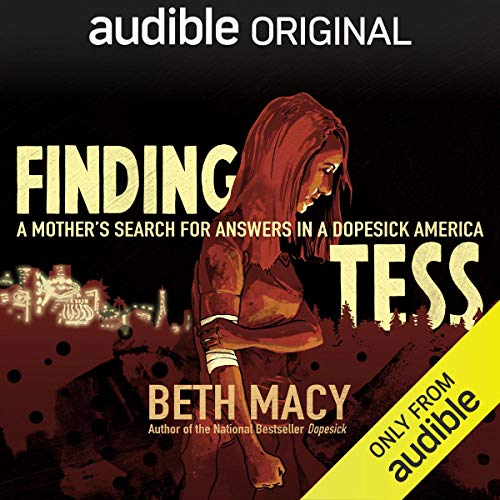 Finding Tess audiobook cover art