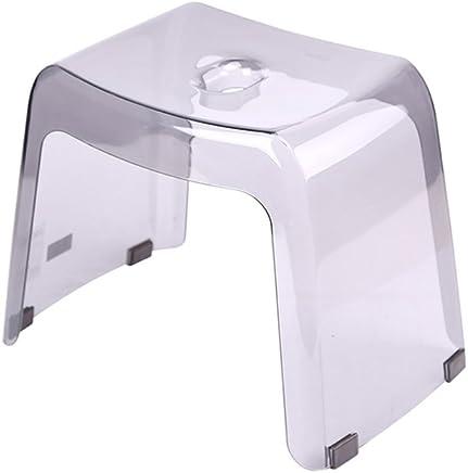 Amazon.fr : Tabouret transparent - Salle de bain et WC / Ameublement ...