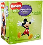 Huggies Little Movers Slip-On Diaper Pants, Size 4, 148 Ct