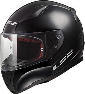 Ls2 Casco Moto FF324 Metro Rapid MATT BLACK HI-VIS YELLOW TG L