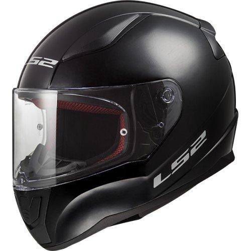 Casque moto LS2 RAPID Noir, Noir, M