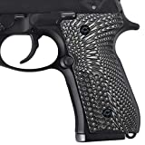 Guuun Beretta 92/96 Full Size G10 Grips,Beretta 92 FS, m9, 92a1, 96a1, 92 INOX Grips, in fit and Slim Down The Beretta Grips, Eagle Wings Texture, Brand by