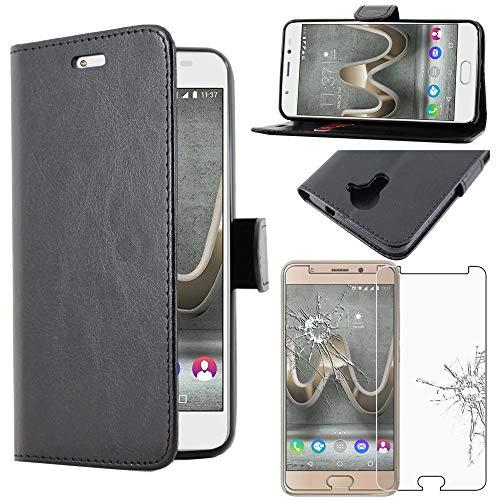 Bester der welt ebestStar – Kompatibel mit Wiko U Feel Prime Case, Brieftasche aus Kunstleder und Handyhülle [PU Leder],…