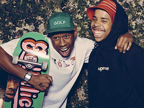 Gryposaurus Tyler, The Creator and Earl Sweatshirt Poster 18 × 24 Inches