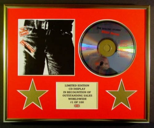 The Rolling Stones/CD Display / Limited Edition / Cacao / Sticky Fingerers
