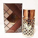 Parfum Jazzab pour Femme Eau de Parfum de Haute Qualité et de Longue Durée, Arabe Oriental 100ML Notes épicées, agrumes, cèdre, ambre, oriental, arôme boisé