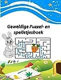 geweldige puzzel- en spelletjesboek: Dit geweldige activiteitenboek staat boordevol puzzels en spelletjes waarmee je uren zoet bent ,raadzels - puzzels ... boeken voor kinderen (Dutch Edition)