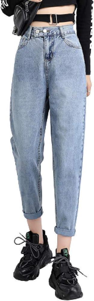 Ladies Autumn Denim Trousers Versatile 25% OFF Regular and Fashionable Ranking TOP2