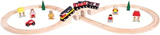 Bigjigs Rail Heritage Collection Canadian National Train Set