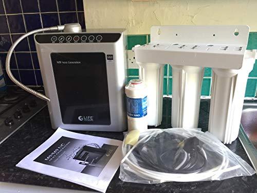 Black Life Ionizer B00C2UFYSO M9 Counter Top Water Ionizer