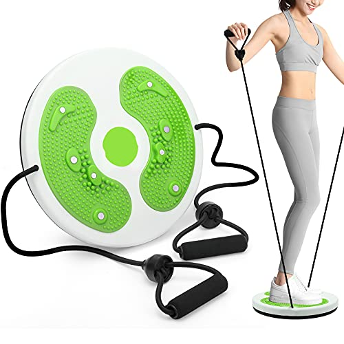 Zonpor Twist Waist Disc Board Tableros de Equilibrio Cintura Adelgazante Fitness Masaje de pies magnético Multifuncional Equipo de Fitness para el hogar