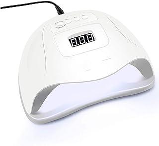 Secadores de uñas 54w Nail Dryer Uv Led Lámpara de Uñas para Todos los Geles Polacos con Detección Infrarroja 30/60/90s Temporizador Botón Táctil Inteligente