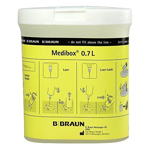 Medibox Kanülensammler 0,7 Liter