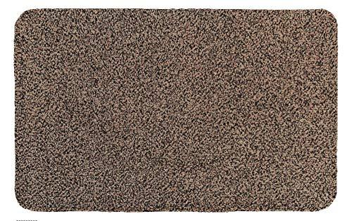 Morland Portifera Absorbens Katoen Deurmat 45 cm x 70cm - Machine Wasbaar - Alleen 7mm dik-perfrct achterdeur, badmat of douchemat