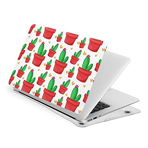 Cactus in Flower Pot MacBook New Air 13 inch Case (A1932 & A2179) Laptop Cover Hard Shell Protective Case