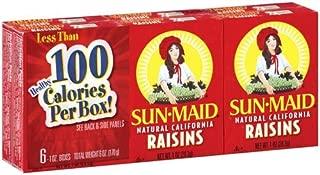 Sun-Maid Natural California Raisins, 1 OZ (Case of 24)