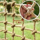 DFGHJKNN Red De Seguridad Nylon Rope Net Cargo Net Climbing Kids Climb Net Rope Cargo Netting Swing Set Large for Niños Adult Tree Climbing Net Nets,1×7m(3.3×23ft)