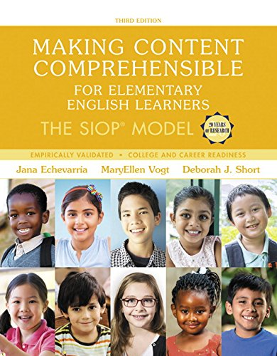 Making Content Comprehensible for Elementary English Learners: The SIOP Model, with Enhanced Pearson eText -- Access Car