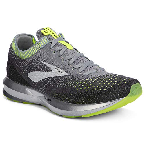 Brooks Levitate 2, Zapatillas de Running para Hombre, Gris Grey Nightlife Black 027, 44 EU