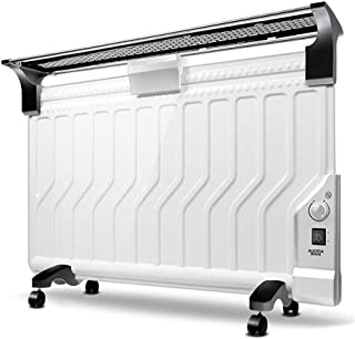 WenFei shop Radiador de Panel Lleno de Aceite Gratis - Montado en la Pared y en el Piso/Independiente - Protección contra sobrecalentamiento y calefacción rápida, baños, Cocina, Sala de Estar