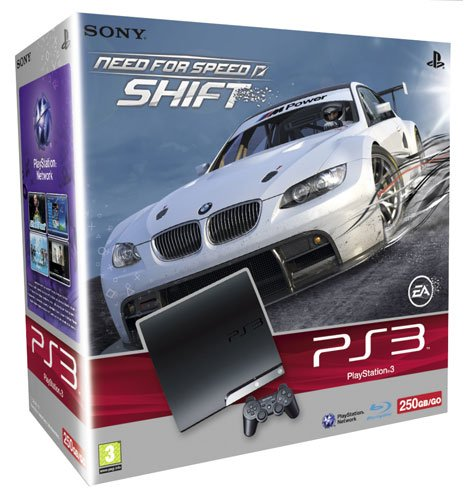 Console PS3 Slim (250 Go) + Need For Speed : Shift