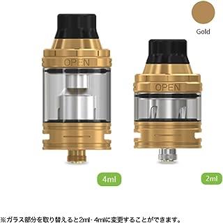 正規品 VAPE 電子タバコ Eleaf ELLO Atomizer(イーリーフ エロー アトマイザー)【25mm】選べるカラー6色 (⑤ ゴールド)