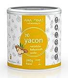 Amazonas Naturprodukte Bio Yacon Pulver Pur aus Peru (1 x 240 g)