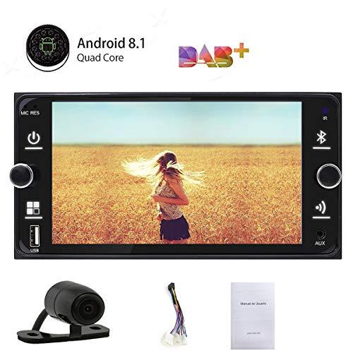 Dubbele Din Android 8.1 Auto Navigatie Stereo met Bluetooth voor Toyota 7