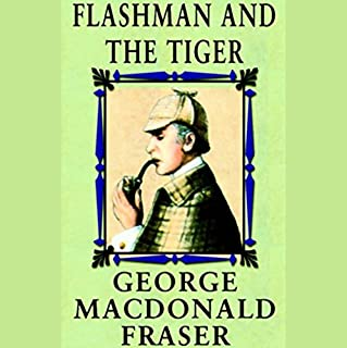 Flashman and the Tiger audiobook cover art