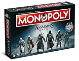 Winning Moves- Monopoly-Assassin's Creed, Colore Blu, 1