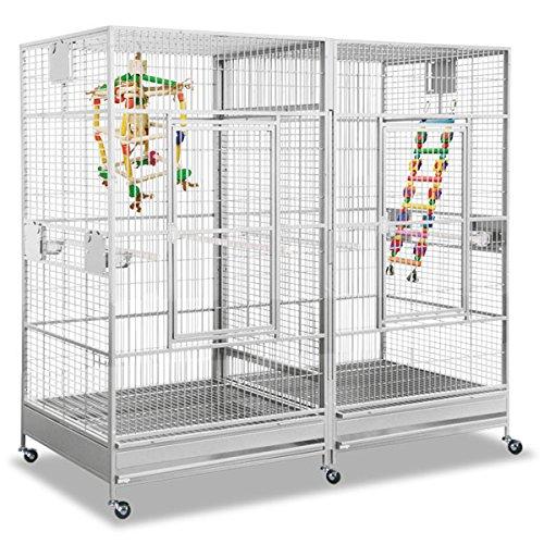 Montana Cages ® | Papageienkäfig, Voliere XXL, Käfig XXL, Arkansas II - Platinum