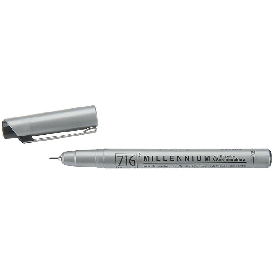 Zig 0.02mm Memory System Tip Millennium Marker, Pure Black