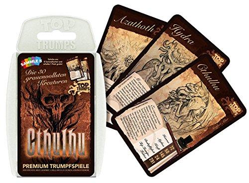 Unbekannt Cthulhu - Top Trumps - Kartenspiel Quartett mit 30 Spielkarten