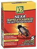 KB Nexa Trappole per Blatte e Scarafaggi, x5...