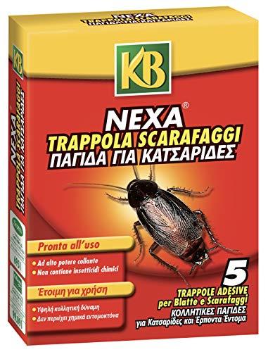 KB Nexa Trappole per Blatte e Scarafaggi, x5