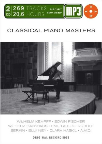 Classical Piano Masters-Mp 3